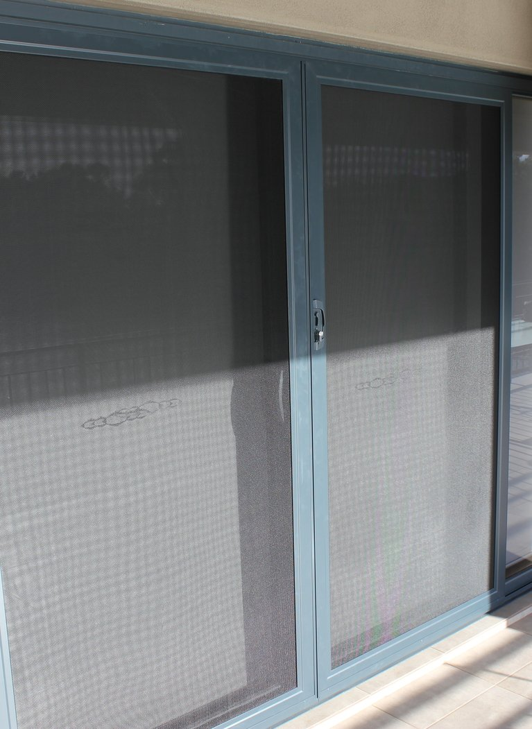 Stainless Steel Mesh Sliding Security Doors In Perth
