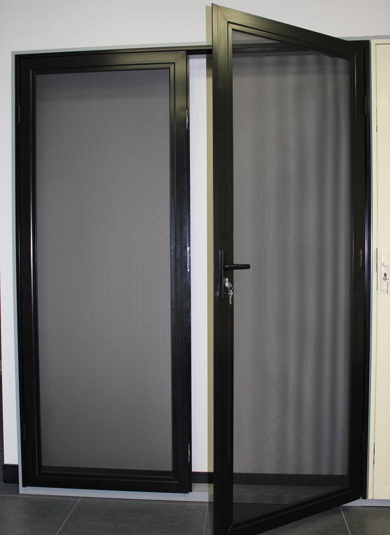 Stainless Steels Mesh Hinged Security Doors In Perth