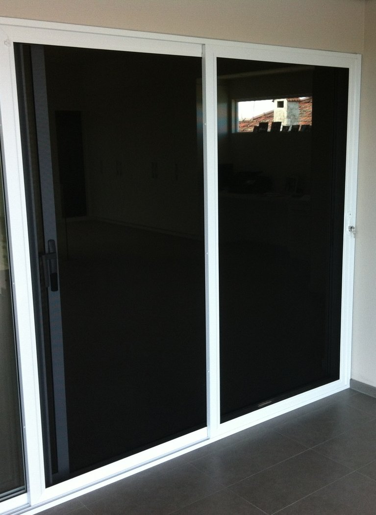 Stainless Steel Mesh Stacking Security Doors Perth Ph 08