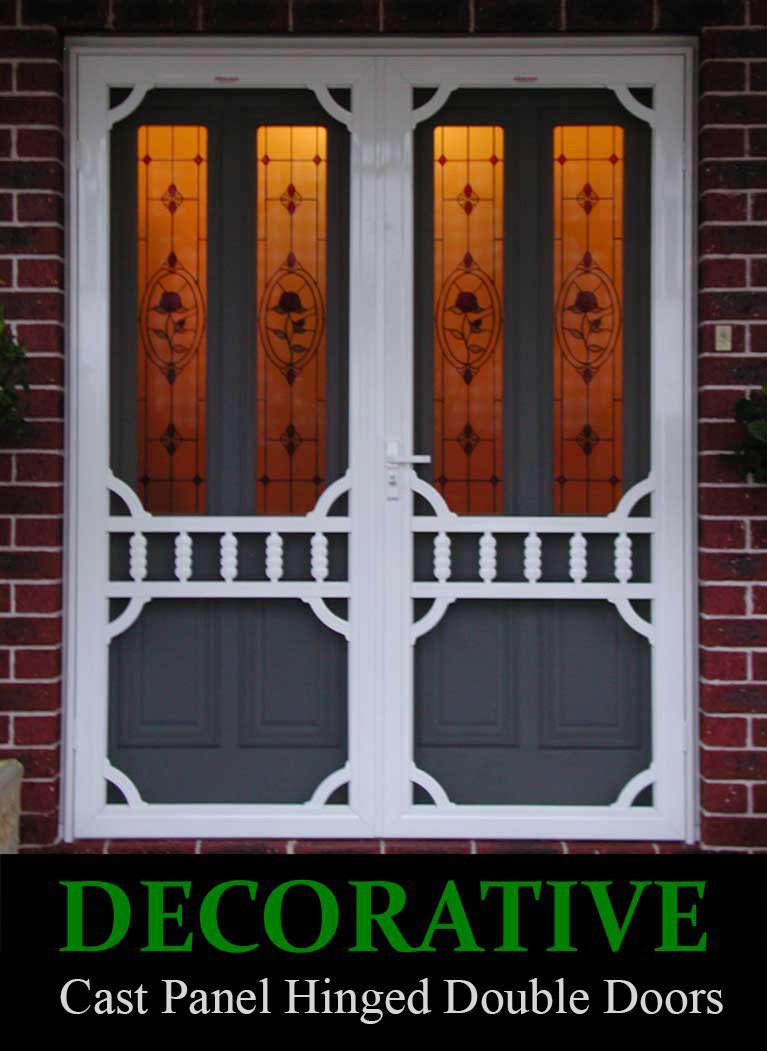 Flywire Doors Amp Cast Colonial Flyscreen Door