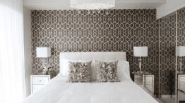decorazione d'interni, posa carta da parati, applicazione stucchi