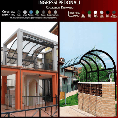 Ingressi pedonali