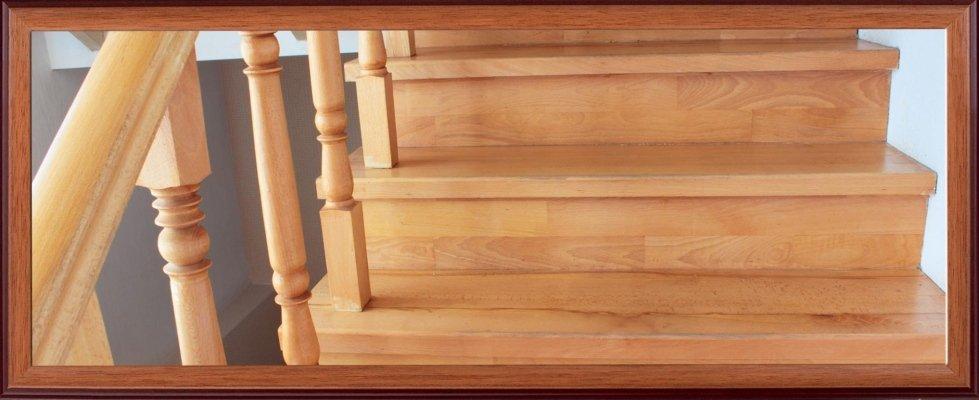 Scalinata in legno