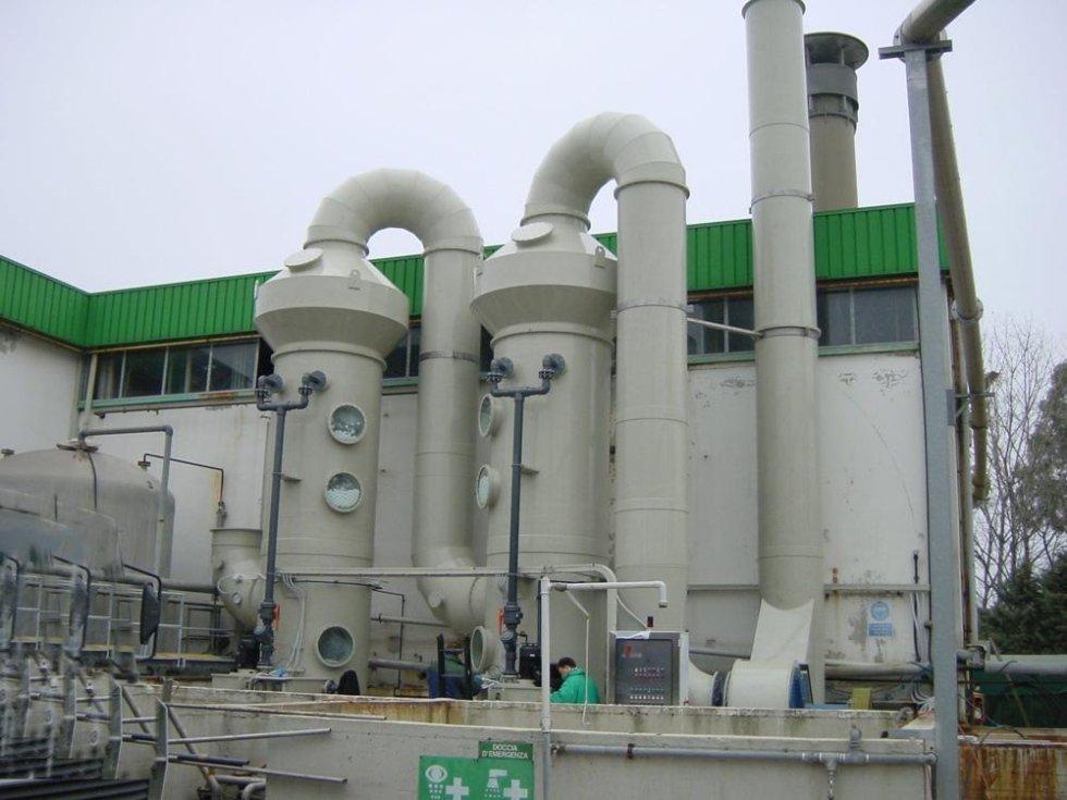 Impianto di Deodorizzazzione Q=30000 m3h