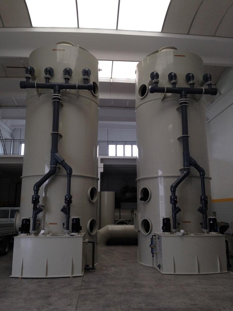 Scrubber Statico Diam 2400 mm