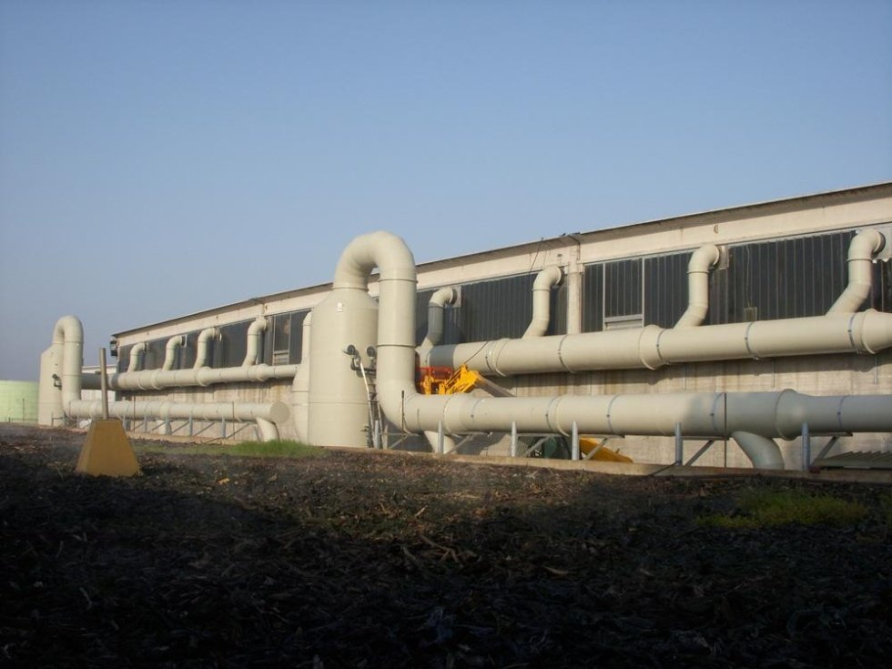 Tuyauterie et ventilateurs