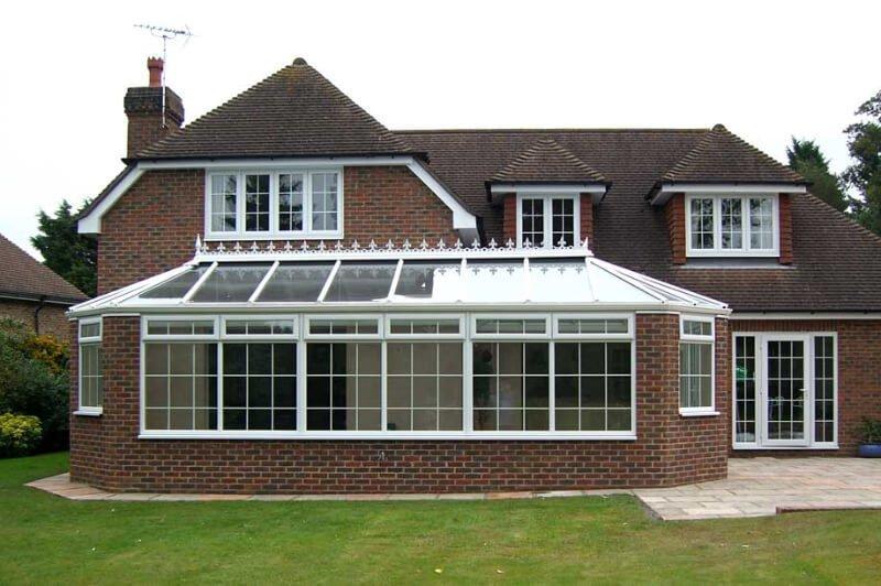 Large orangery conservatory