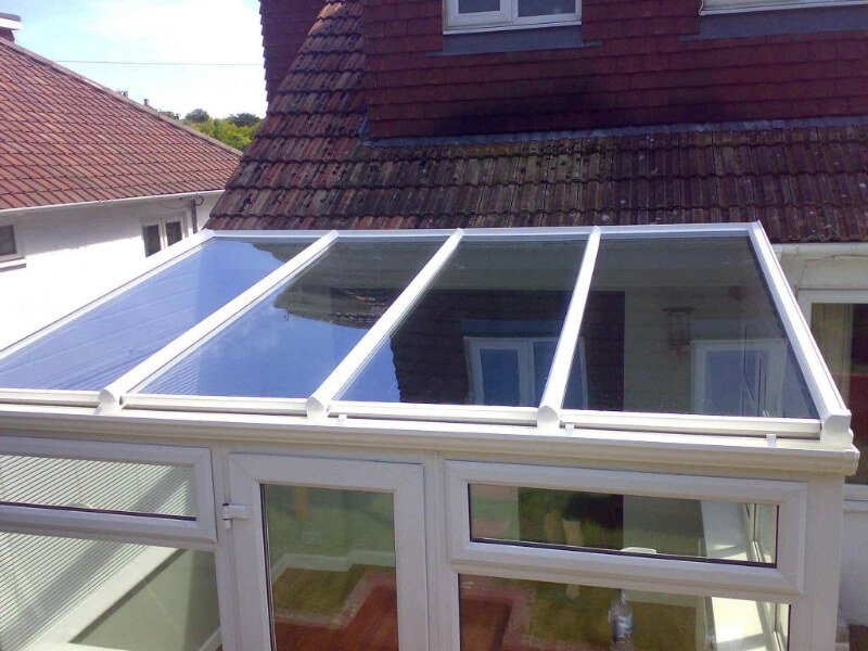 Replacement white conservatory