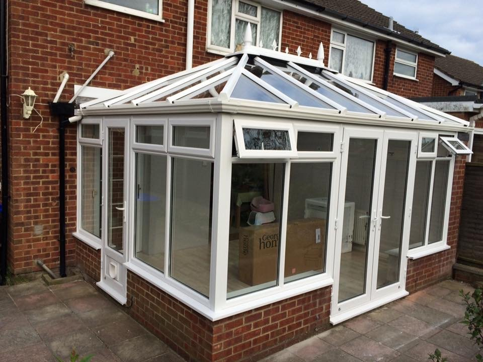 New frames and new pitched roof