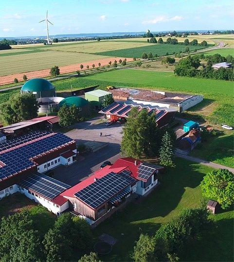 Biogasanlage Vees, Eutingen im Gaeu, DE