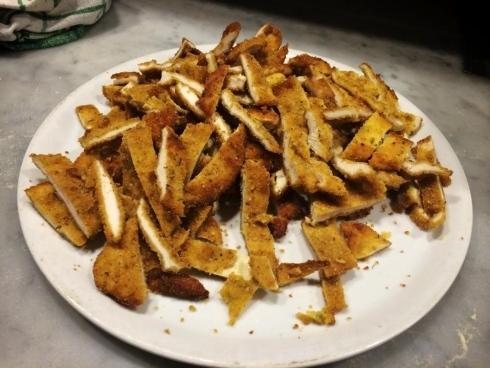 frittini con mozzarella
