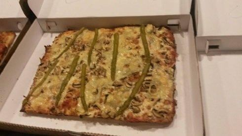 pizza quadrata