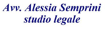 AVV. ALESSIA SEMPRINI - STUDIO LEGALE - LOGO