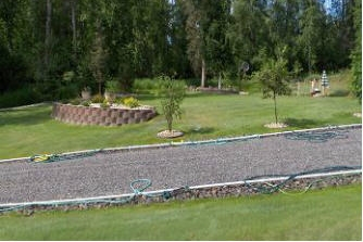 Quality graveled area in Fairbanks, Alaska