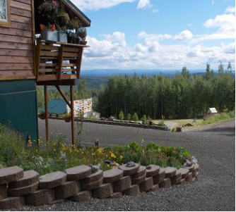 After picture of professional landscaping in Fairbanks, Alaska