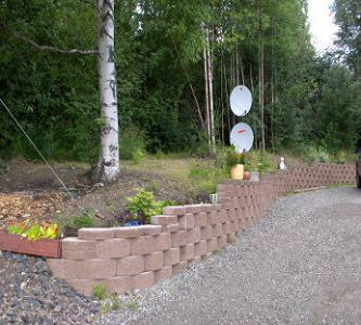 Professional landscaping in Fairbanks, Alaska
