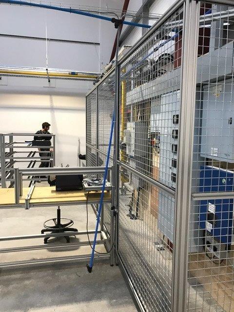 aluminum cages