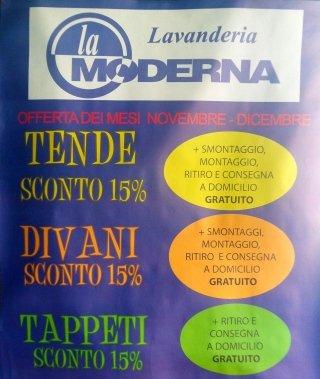 promozione lavanderia La Spezia