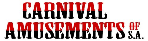 carnival amusements of s a business logo