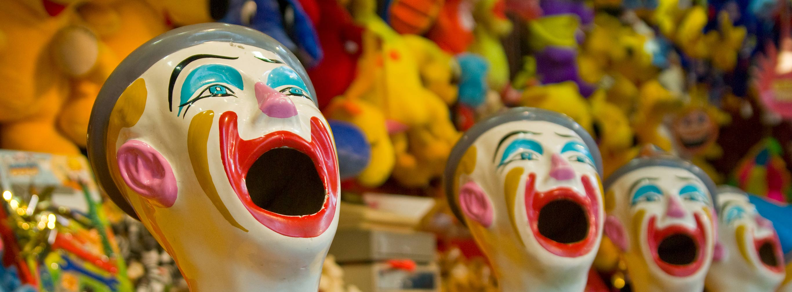 carnival amusements of s a laughing clowns