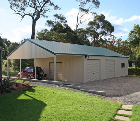 One of our rural sheds on the Sunshine Coast