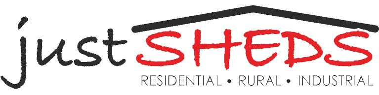 just sheds logo