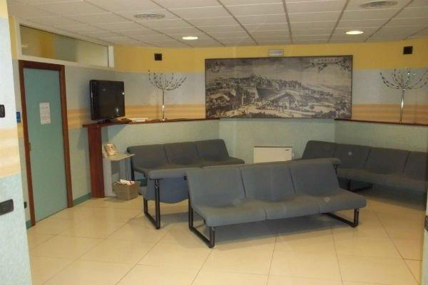 una sala d'attesa