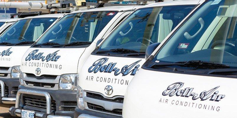 Bell-Air Air Conditioning Fleet