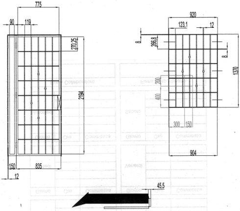 Progettazione, realizzazione e collaudo di strutture metalliche.