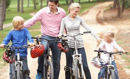 Family riding cycles