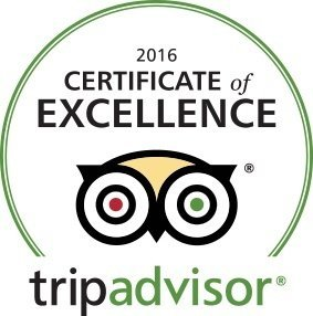 2016 cert of excellence trip advisor