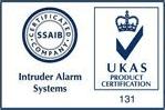 Intruder alarm system, UKAS