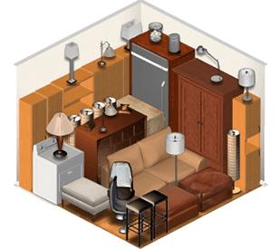 custodia mobili appartamento