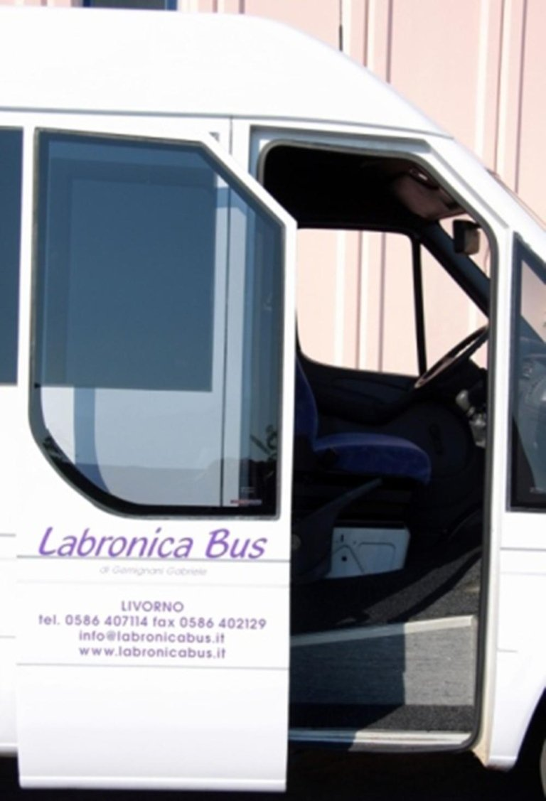 Porta aperta del minibus