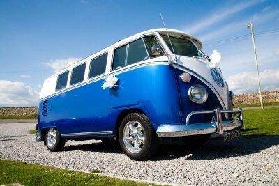 front view of the van
