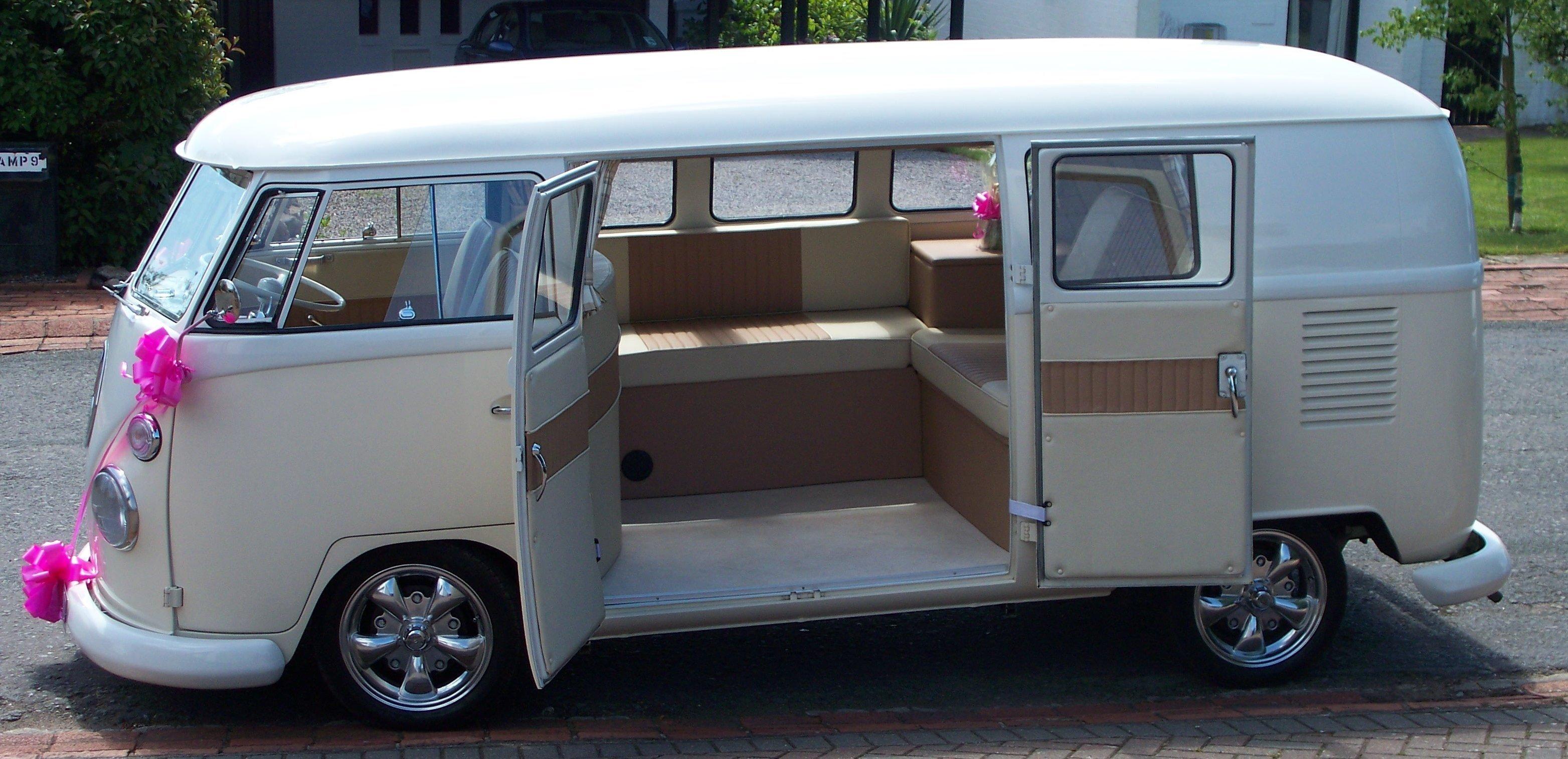 an empty van