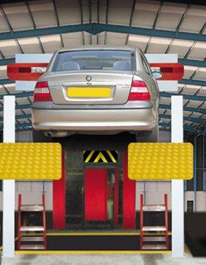 Car body repairs - Horsforth, Leeds - Alan Wilson Accident Repair Specialists Ltd - MOT Testing