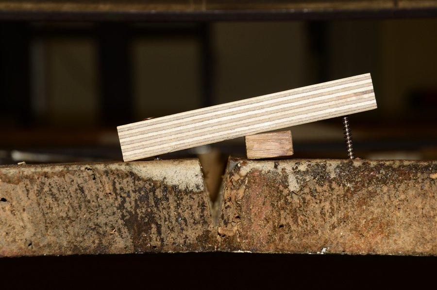 Supporto di legno