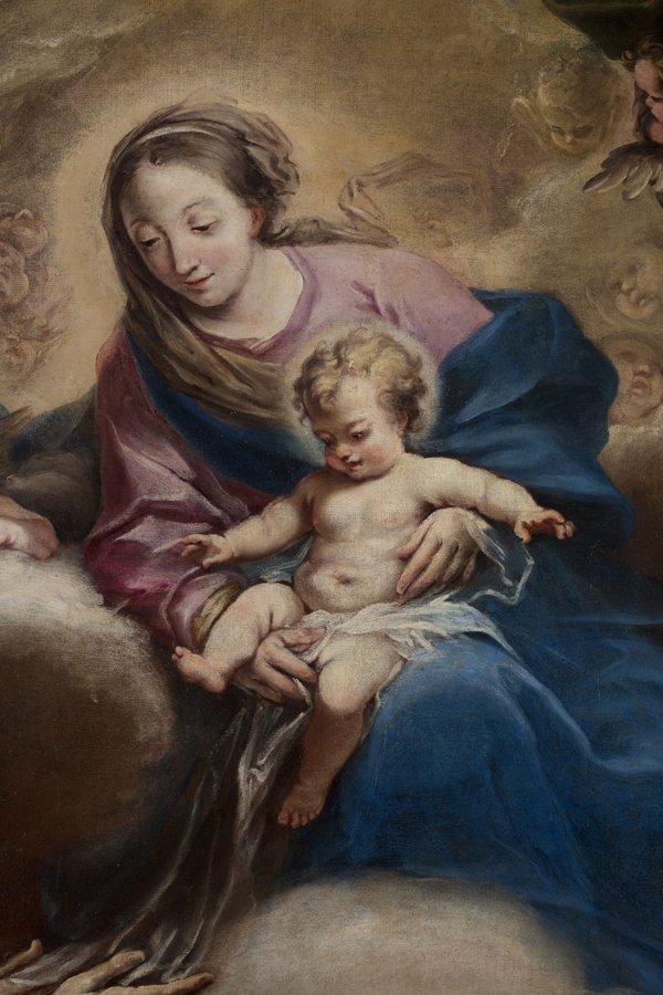 pittura di Giovanni Bellini -Madonna del Prato con bambino