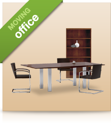 Shifting of all office furniture by professionals