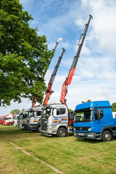 Nation-wide haulage services