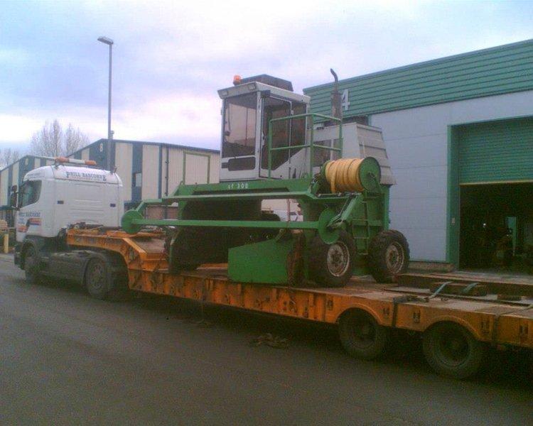 Plant haulage