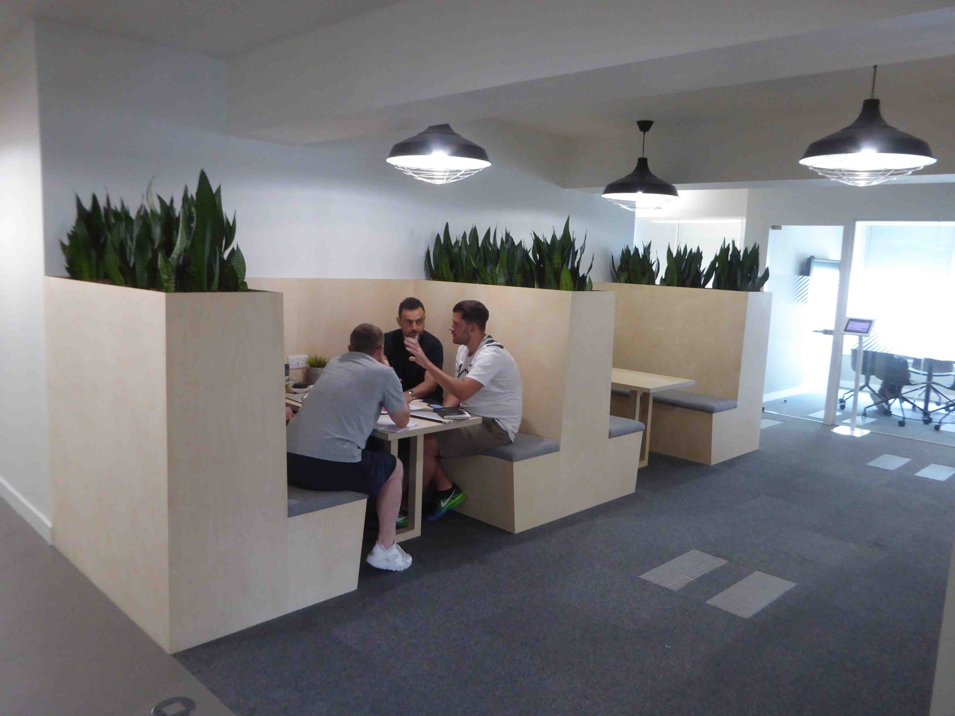 NIKE. Interior Planting Scheme