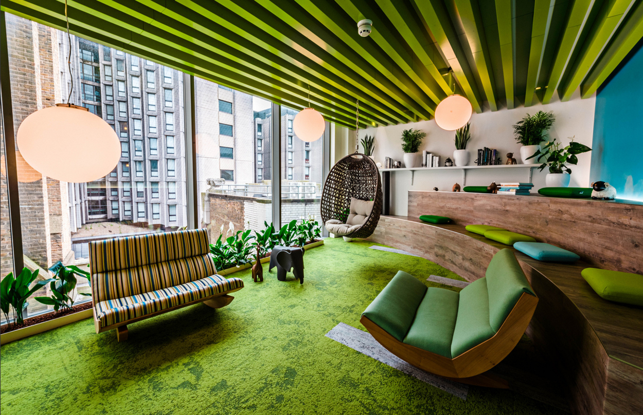 6 Examples Of London Office Spaces Using Plants