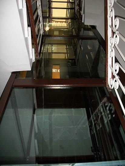 ascensore dopo taglio scale