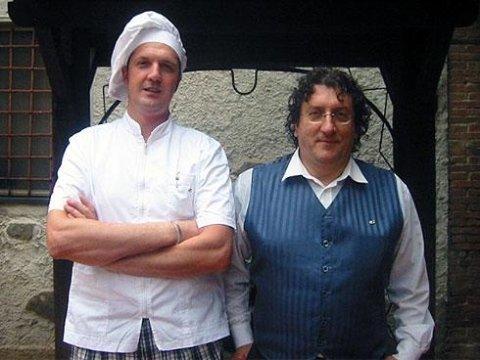 Giordano Andreucci e Maurizio romei