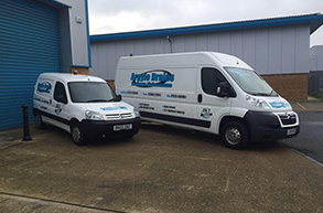 Argyle vans drainage response vans in Canterbury