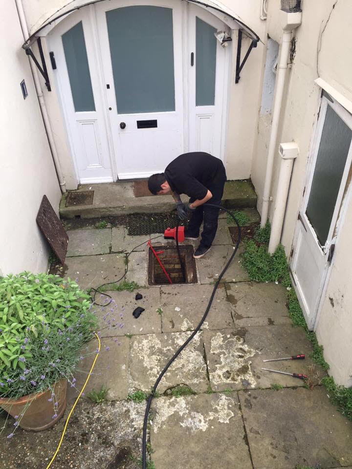 Fast clearance of blocked drains in Ashford Kent