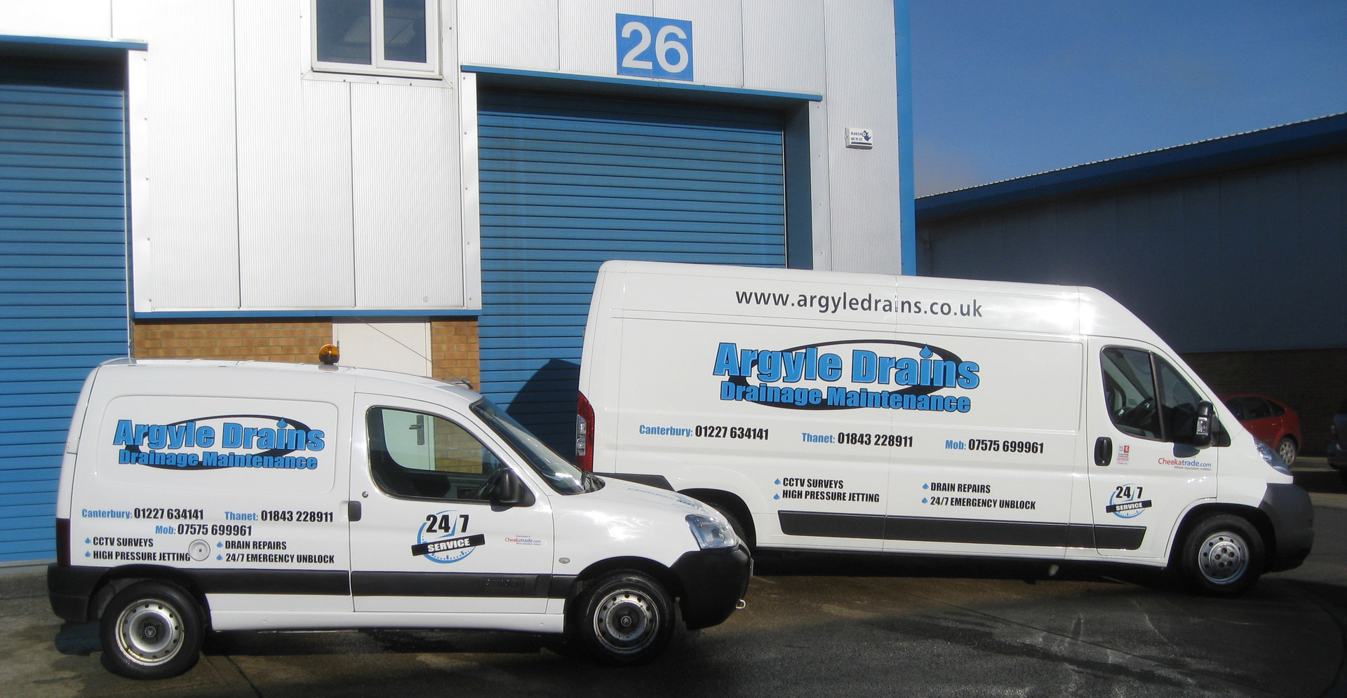 Argyle drains experienced local drainage contractors Canterbury, Serving Kent