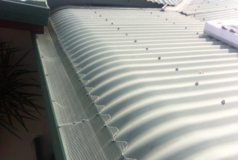 allclear gutter and guard nq bluescope steel mesh